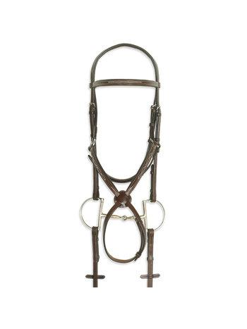 PESSOA Pessoa PRO Fancy Stitched Figure Eight Bridle