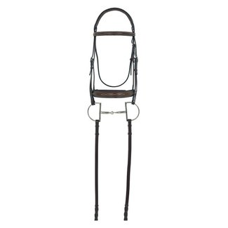 Camelot Camelot Gold RCS Fancy Raised Wide Nose Padded Bridle