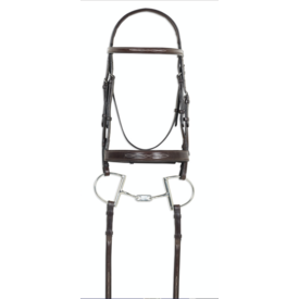 PESSOA Pessoa PRO Fancy Stitched Wide Nose Bridle