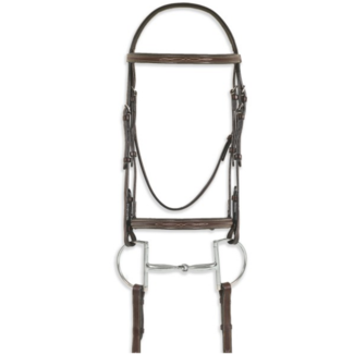 PESSOA Pessoa PRO Fancy Stitched Raised Bridle