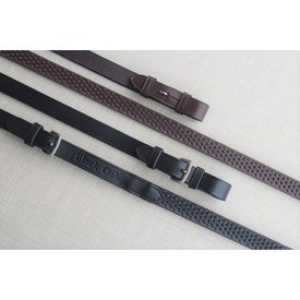 "Black Oak Black Oak 3/4"" Pebble Grip Rubber Reins"