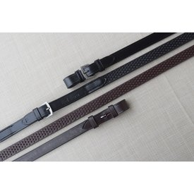 """Red Barn Red Barn 3/4"""" Pebble Grip Rubber Reins"""