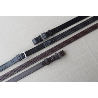 "Red Barn Red Barn 3/4"" Pebble Grip Rubber Reins"