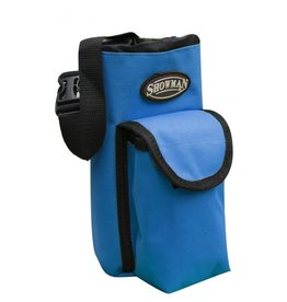 Showman Showman Nylon Insulated Bottle Carrier with Pocket