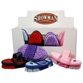 Showman Showman Soft Touch Flexible Body Brush