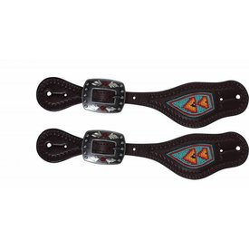 Professionals Choice Professional's Choice Beaded Spur Strap