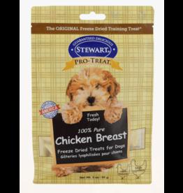 Stewart Stewart Pro-Treat Dog Treats Freeze-Dried Chicken Breast 3 oz.