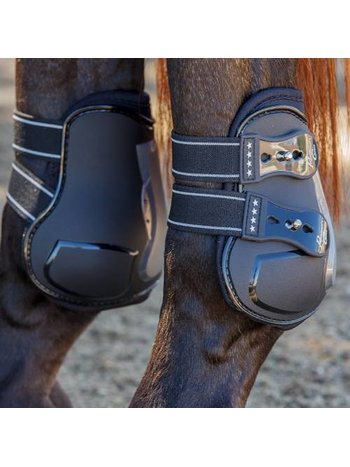 Professionals Choice Professional's Choice Pro Performance Open Front rear Boots with TPU Fasteners