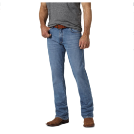 Wrangler Wrangler Men's Retro Premium  Slim Fit Boot Cut Jean