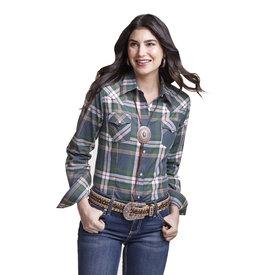 Wrangler Wrangler Ladies Western Fashion Button Up