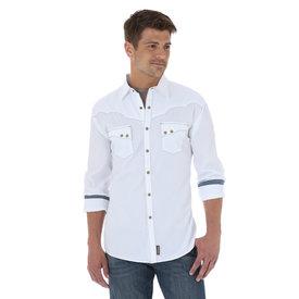 Wrangler Wrangler Men's Retro Western Snap Tonal Dobby Shirt