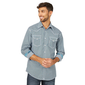 Wrangler Wrangler Men's 20X Competition Long Sleeve Western Snap Shirt