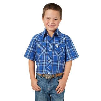 Wrangler Wrangler Boys Retro Short Sleeve Shirt