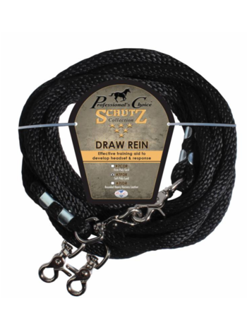 Professionals Choice Professional's Choice Poly Rope Draw Reins