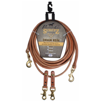Professionals Choice Professional's Choice Rounded Leather Draw Reins