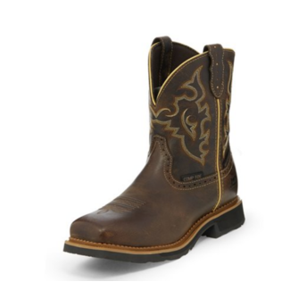 Justin Boots Justin Boots Jalena Maple Tan Waterproof Comp Toe