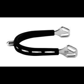 Herm Sprenger Herm Sprenger Ultra Fit Extra Grip 15 mm Rounded Stainless Steel Spurs
