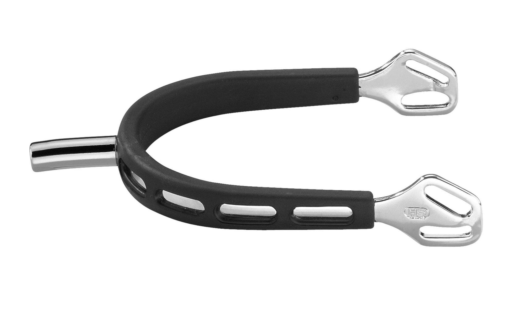 Herm Sprenger Herm Sprenger Ultra Fit Extra Grip 25 mm Flat Neck Stainless Steel  Spurs