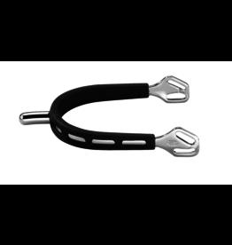 Herm Sprenger Herm Sprenger Ultra Fit Extra Grip 25 mm Rounded Neck Stainless Steel Spurs