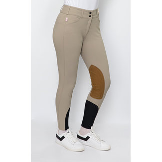 The Tailored Sportsman The Tailored Sportsman 1923 Ladies' Boot Sock Breech Mid Rise Front Zip