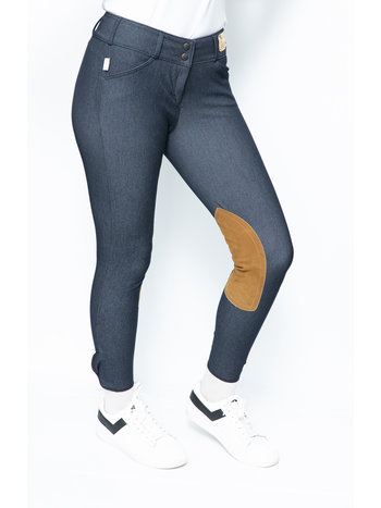 The Tailored Sportsman The Tailored Sportsman 1937 Ladies' Trophy MicroDenim Low Rise Front Zip