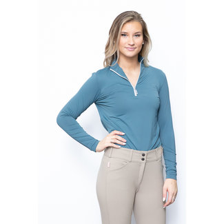 The Tailored Sportsman The Tailored Sportsman Icefil Long Sleeve Zip Top Shirt