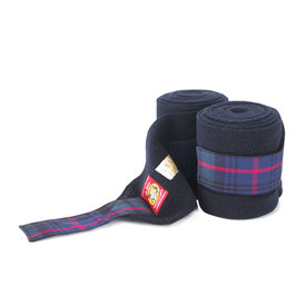 Lettia Lettia Navy with Baker Tartan Tape Polo Wraps