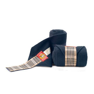 lettia Lettia Navy Baker Polo Wraps