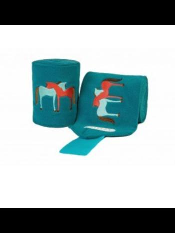 Lettia Lettia Hugging Horses Polo Wraps