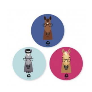 lettia Lettia 3 Pack Hipster Horses Stickers