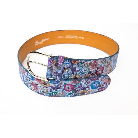 Tailored Sportsman Floral Print Belt