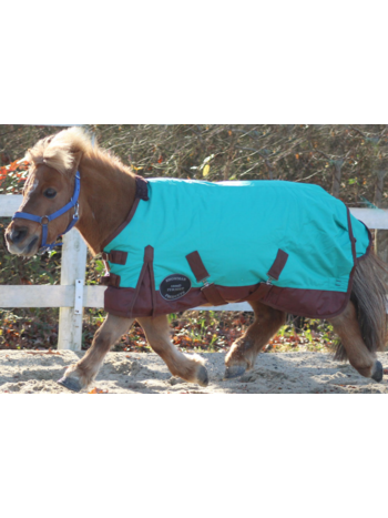 Showman Showman Large Mini / Pony 1200 Denier Adjustable Turnout Sheet