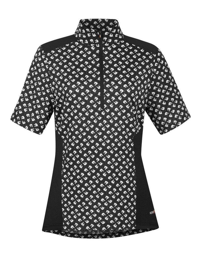 Kerrits Ice Fil Lite Short Sleeve Riding Shirt Print