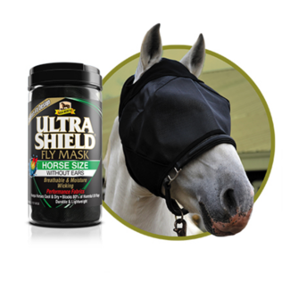 Absorbine Absorbine Ultrashield Fly Mask Without Ears