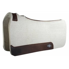 "Professionals Choice Professional's Choice Steam Pressed Comfort-Fit Felt Saddle Pad 31"" x 32"""