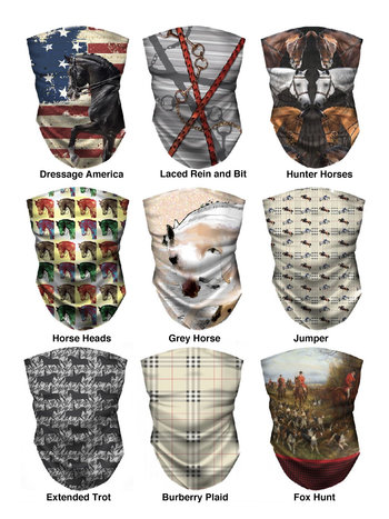 Noble Pony Noble Pony Equestrian Face Covers