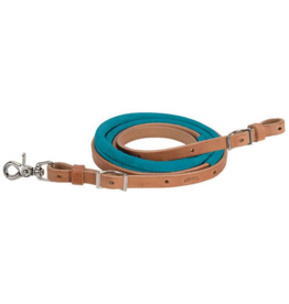 "Weaver Leather Weaver Suede Covered Barrel Reins 5/8"" x 8'"