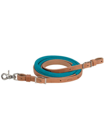 """Weaver Leather Weaver Suede Covered Barrel Reins 5/8"""" x 8'"""