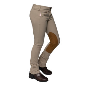The Tailored Sportsman The Tailored Sportsman 3969 Girls' Trophy Hunter Low Rise Front Zip Jod