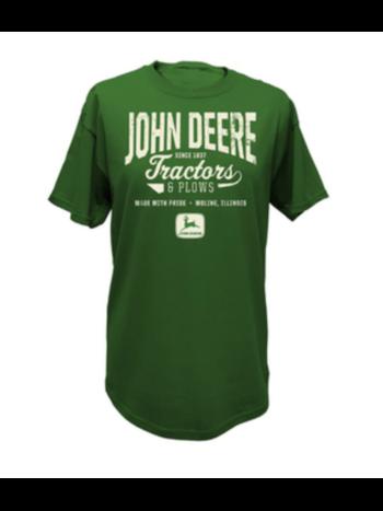 John Deere John Deere Men's Tractors & Plows Tee Shirt