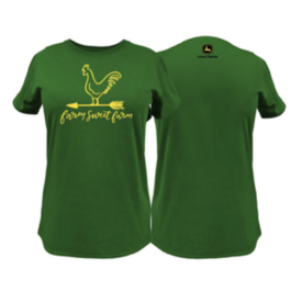 John Deere John Deere Farm Sweet Farm Ladies Tee Shirt