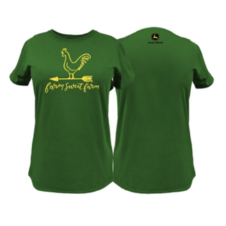 John Deere John Deere Farm Sweet Farm Ladies Tee Shirt