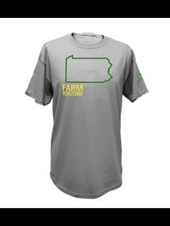 John Deere John Deere Men's State Tee Shirt