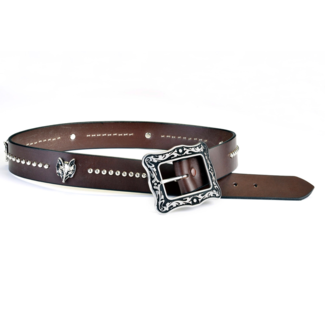 PHS Saddlery Inc PHS Saddlery Hunt Club Ladies Fox Head Belt