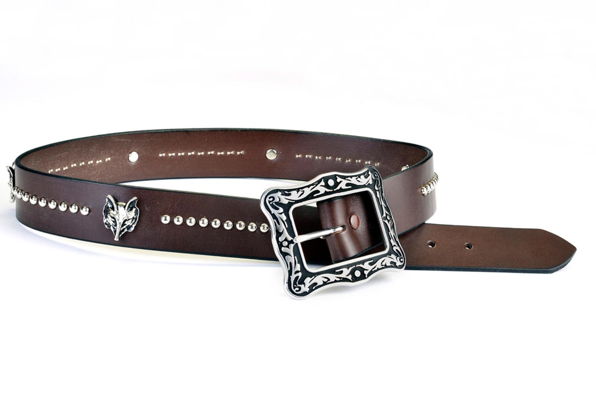 PHS Saddlery Inc PHS Saddlery Hunt Club Ladies Fox Head Belt