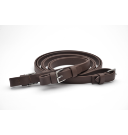 "Dr. Cook Dr. Cook Beta Flat Super Grip 3/4"" Reins w/ Buckle"