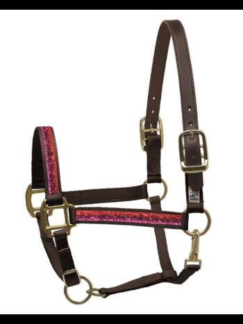 Perri's Leather Perri's Sparkle Ribbon Nylon Safety Halter
