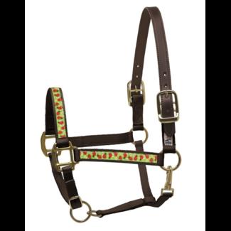 Perri's Leather Perri's Ribbon Pattern Nylon Safety Halter with Breakaway