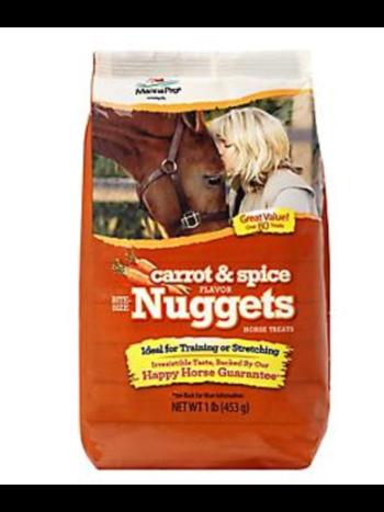 MANNA PRO-FEED AND TREATS Bite Size Nuggets & Wafers Treats 1 lb.