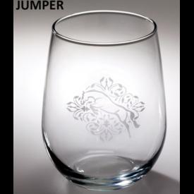 Jacks Stemless Wine Glass